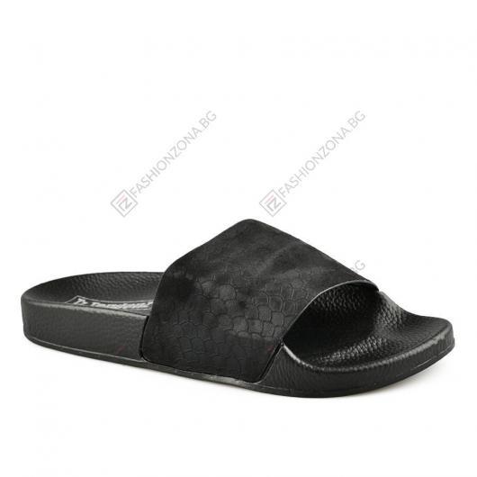 Черни дамски ежедневни чехли Kylen