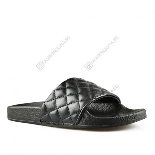 Черни дамски ежедневни чехли Yelena