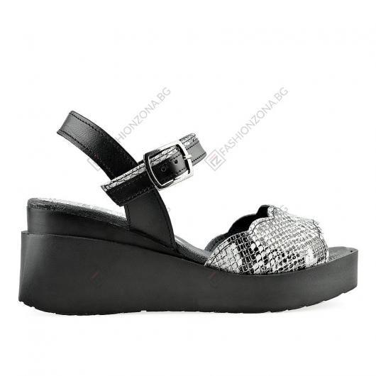 Черни дамски ежедневни сандали Chava