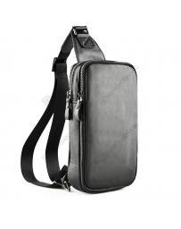 Черна мъжка ежедневна чанта Ranieri