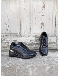 Черни дамски обувки Eira