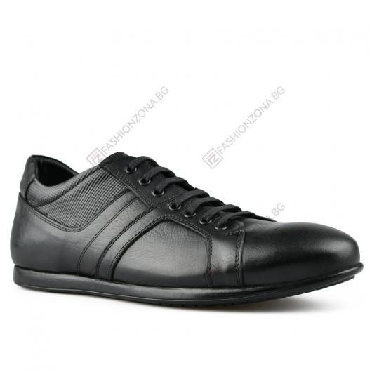 Черни мъжки ежедневни обувки Benito