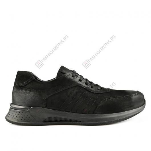 Черни мъжки ежедневни обувки Demetrio