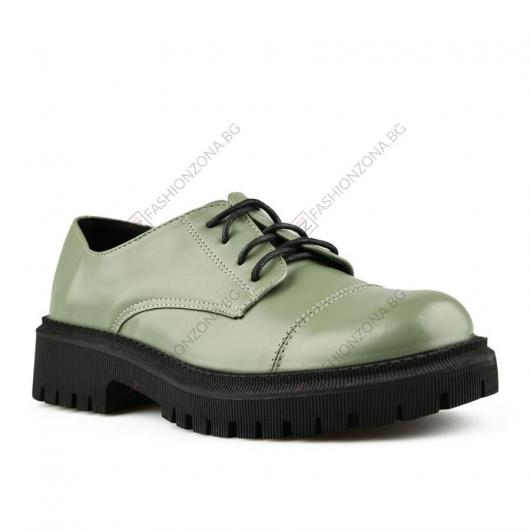 Зелени дамски ежедневни обувки Sanaz