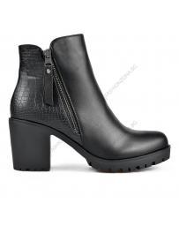 Черни дамски ежедневни боти Vanda