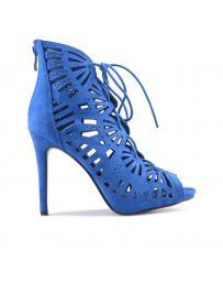 Сини дамски летни боти Ames в online магазин Fashionzona