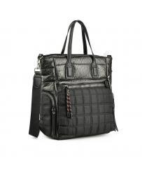 Черна дамска ежедневна чанта Sherah