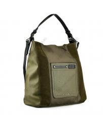 Зелена дамска ежедневна чанта Caelan