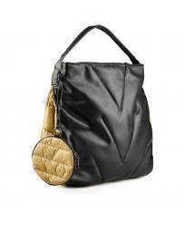 Черна дамска ежедневна чанта Dorit