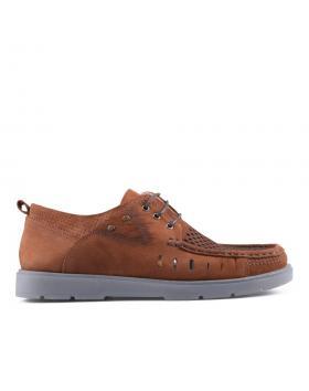 Кафяви мъжки ежедневни обувки 0127526 в online магазин Fashionzona