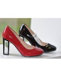 Червени дамски елегантни обувки 0126099
