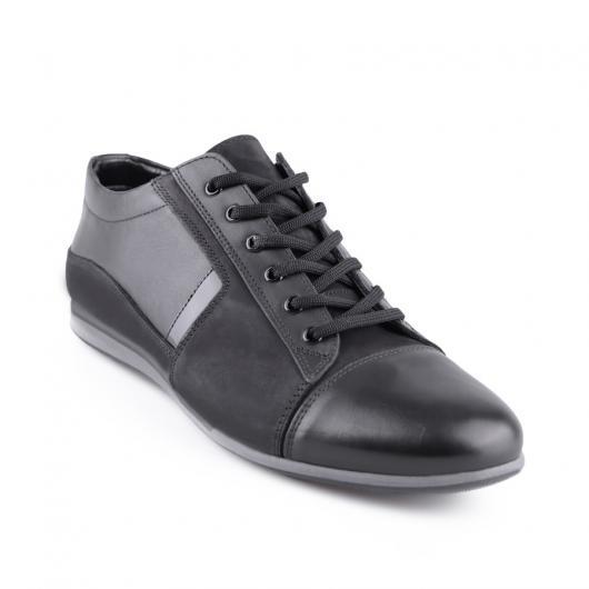 Черни мъжки ежедневни обувки Cidro