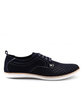 Тъмносини тъмносини мъжки ежедневни обувки 0123052 в online магазин Fashionzona