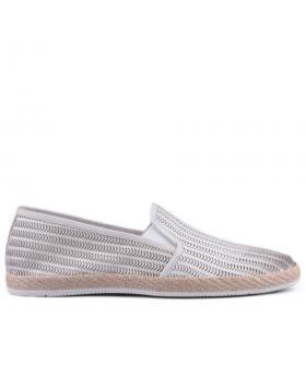 Бели мъжки ежедневни обувки 0127558 в online магазин Fashionzona