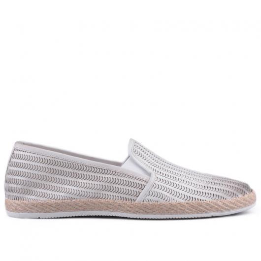 Бели мъжки ежедневни обувки Nigel