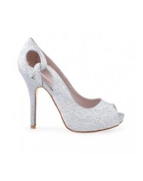 Сребърни елегантни обувки 0123164 в online магазин Fashionzona