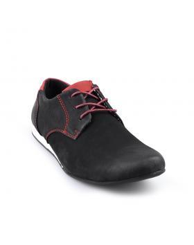 Черни мъжки ежедневни обувки Eduardo в online магазин Fashionzona