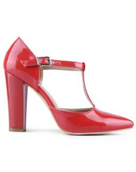 дамски елегантни обувки червени 0127766 в online магазин Fashionzona