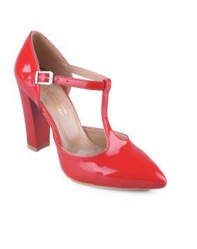 дамски елегантни обувки червени 0127766