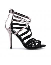 Дамски елегантни сандали черни 0123153