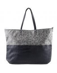 Черна дамска ежедневна чанта Lacina в online магазин Fashionzona