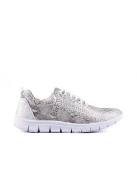 дамски кецове сиви 0126839 в online магазин Fashionzona