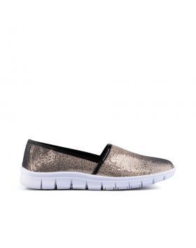 Златисти дамски ежедневни обувки Rubina в online магазин Fashionzona