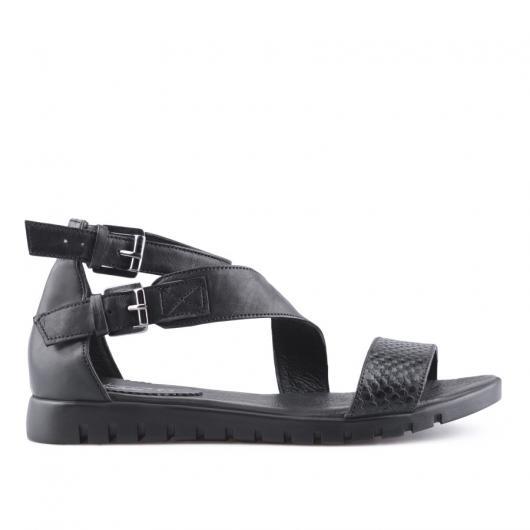 Черни дамски ежедневни сандали Xavierre