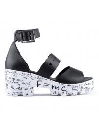 Черни дамски ежедневни сандали Angelique в online магазин Fashionzona