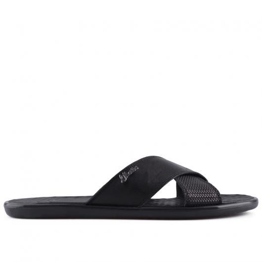 Черни мъжки чехли Antonito