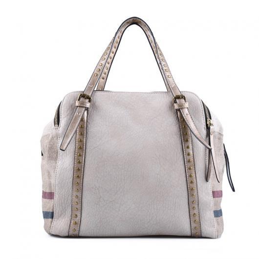 Бежова дамска ежедневна чанта Roial