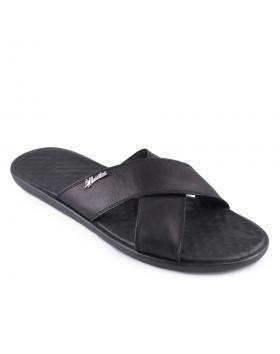 Черни мъжки чехли Teo в online магазин Fashionzona