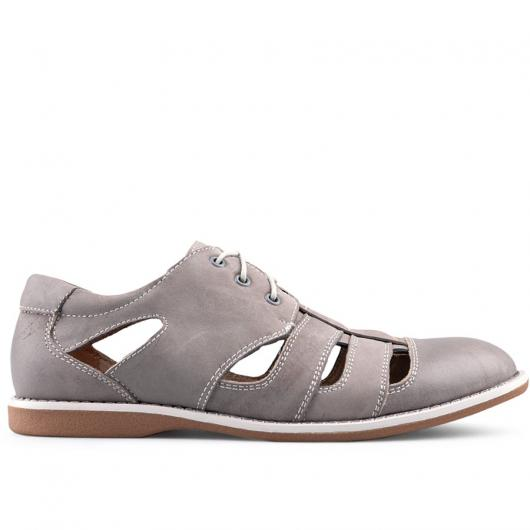 Сиви мъжки ежедневни обувки Siprian