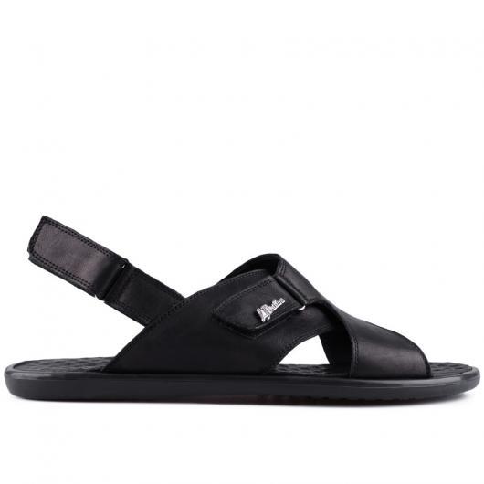Черни мъжки сандали Hiro