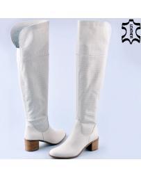 дамски летни ботуши бели 0121520