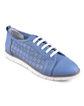 Сини дамски ежедневни обувки 0128497 в online магазин Fashionzona