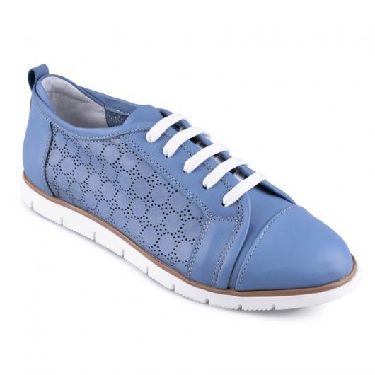 Сини дамски ежедневни обувки Hema