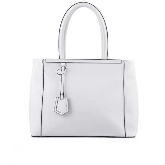 Бяла дамска ежедневна чанта Kirati