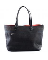 Черна дамска ежедневна чанта 0126276