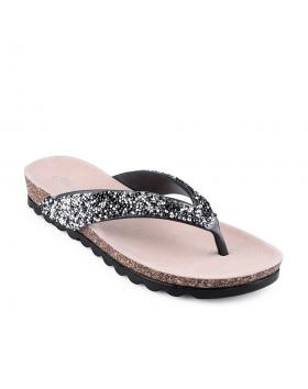 дамски ежедневни чехли черни 0127228 в online магазин Fashionzona