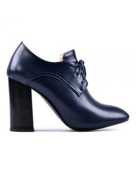 дамски елегантни боти сини 0128090 в online магазин Fashionzona