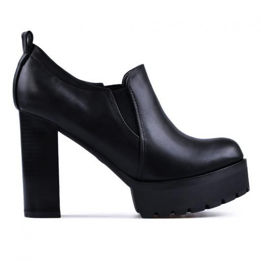 Черни дамски ежедневни обувки Deni