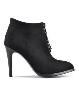 дамски елегантни боти черни 0128100 в online магазин Fashionzona