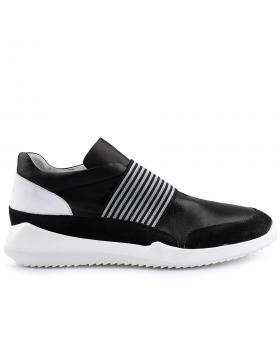 Черни мъжки ежедневни обувки 0125631 в online магазин Fashionzona