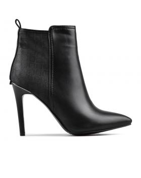 дамски елегантни боти черни 0128117 в online магазин Fashionzona