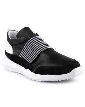 Черни мъжки ежедневни обувки Henrique в online магазин Fashionzona