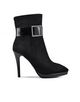 дамски елегантни боти черни 0128553 в online магазин Fashionzona