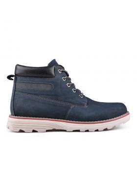 Сини мъжки ежедневни боти 0128316 в online магазин Fashionzona
