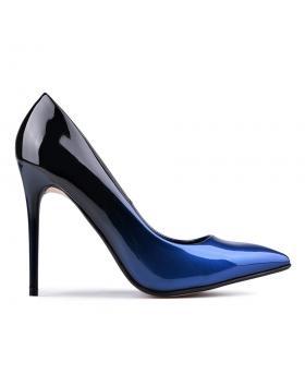 Сини дамски елегантни обувки 0128731 в online магазин Fashionzona
