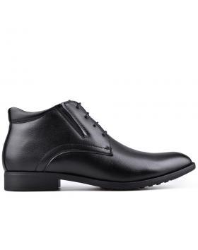 Черни мъжки елегантни боти 0128514 в online магазин Fashionzona